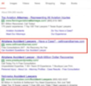 google ads lawyer - Google Search - Google Chrome