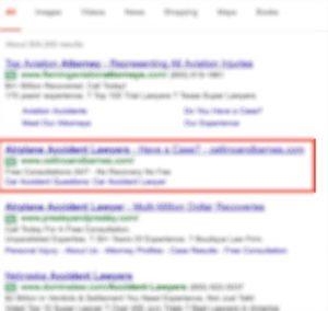 google ads lawyer - Google Search - Google Chrome